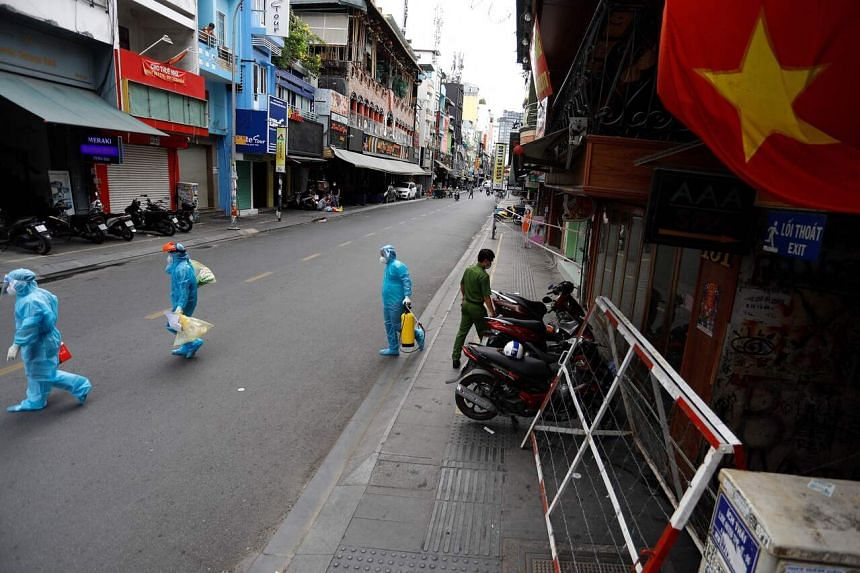 Vietnam has been facing record daily increases in infections since late April.