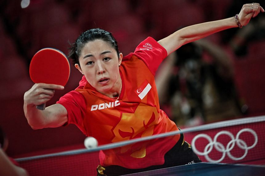 Yu Mengyu will exit sport's grandest stage with her head held high.
