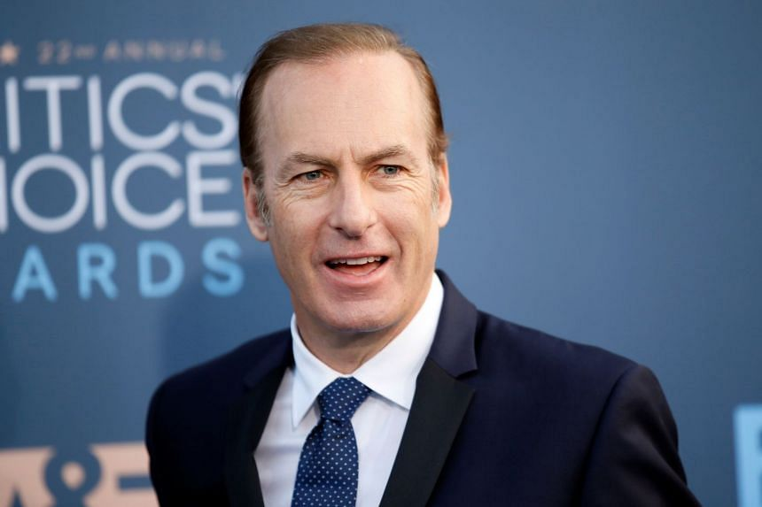 """Odenkirk (above) is said to be """"doing great"""" after collapsing on set."""