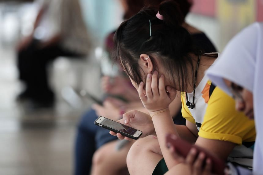 Some students told Mr Chan that scrolling through social media often breeds the fear of missing out, otherwise known as Fomo.