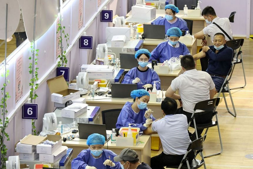 The Chinese government will also step up its work on vaccinating the elderly and teenagers.