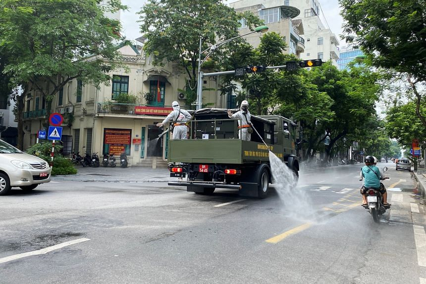 Vietnam is facing a rapid spread of infections that has led to movement restrictions in around one-third of the country.
