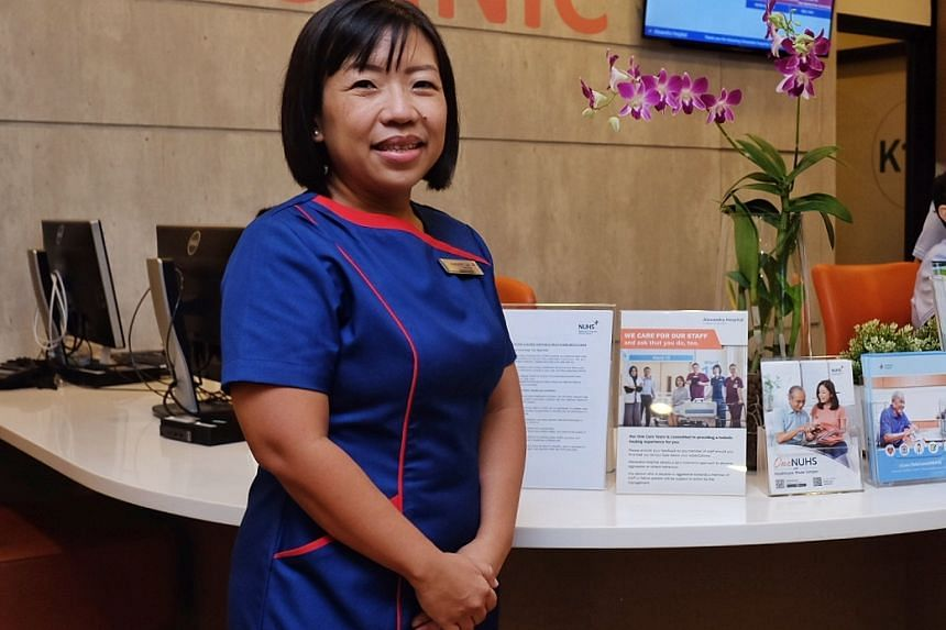 Alexandra Hospital's chief nurse Margaret Lee is one of the recipients of this year's President's Award for nurses.