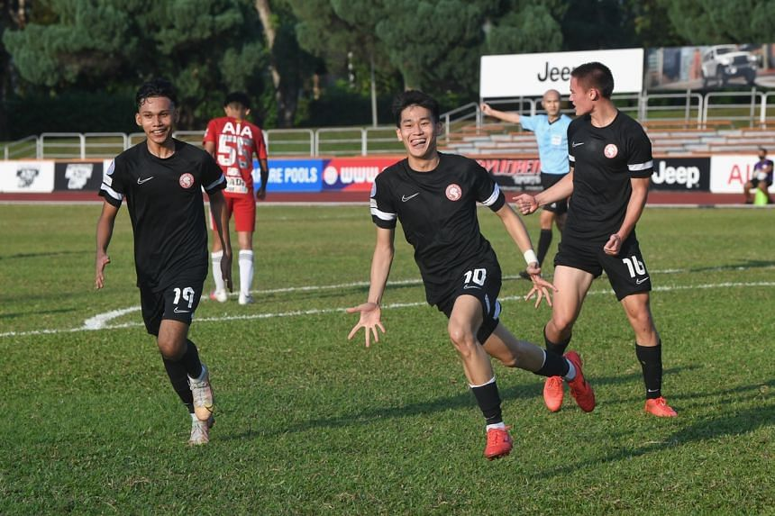 The Young Lions have largely impressed with their positive, entertaining football this season but a win had eluded them.
