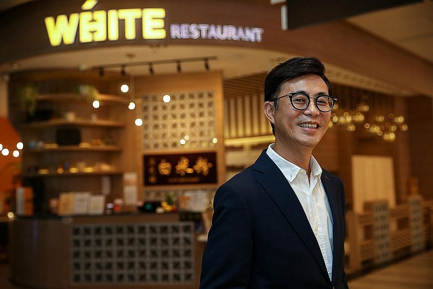 Mr Alan Wah, chief executive of home-grown bee hoon eatery White Restaurant, has always been keen on digital tools - both as an investment and as a way to equip his business for the online future.