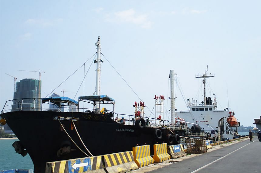 M/T Courageous was seized by Cambodian authorities in March 2020 in accordance with a US warrant.