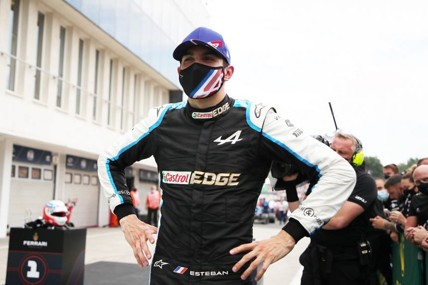 French driver Esteban Ocon took his first Formula One victory with Renault-owned Alpine on Aug 1, 2021.