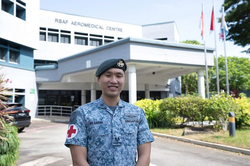 Major (Dr) Aaron Chua was given the Exemplary Innovator Award on July 30, 2021, for his many innovative projects.