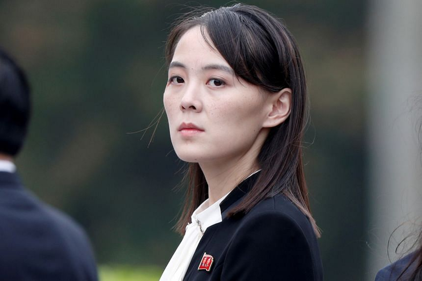 Ms Kim Yo Jong, sister of North Korean leader Kim Jong Un.