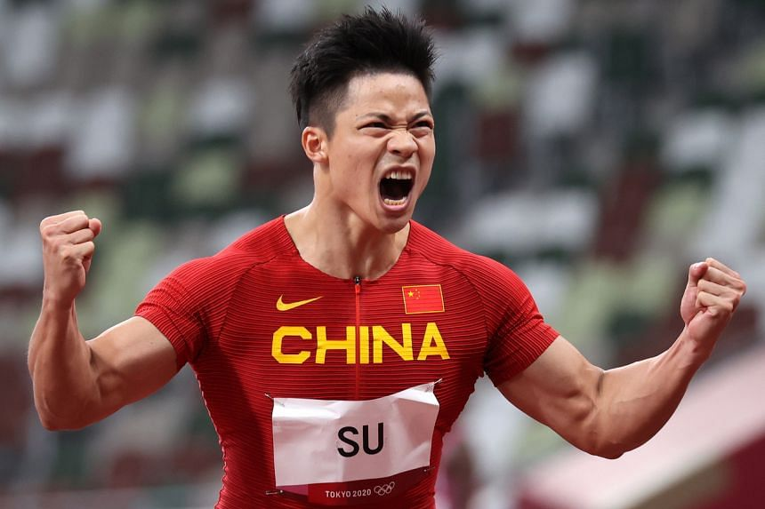 Su Bingtian stunned the world when he qualified for the men's 100m final on Aug 1, 2021.