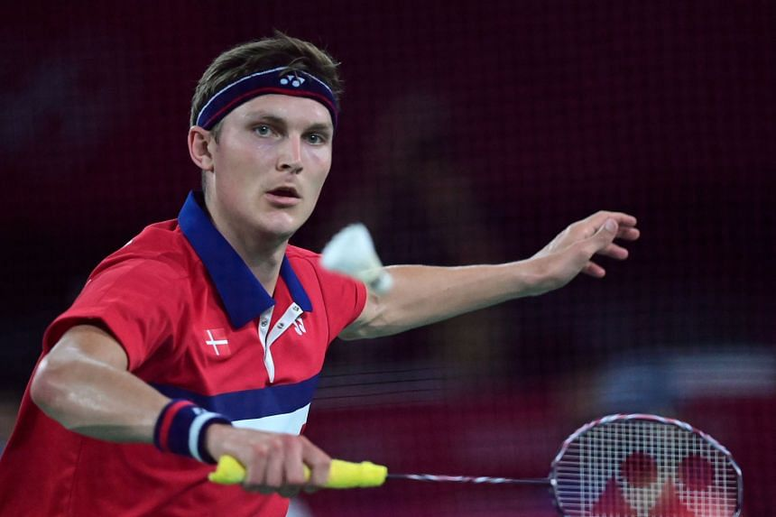 Denmark's Viktor Axelsen was one of the favourites for gold coming into the Olympic Games.