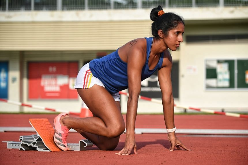 Shanti Pereira, who owns the national records in the women's 100m (11.58sec) and 200m (23.60sec), will take part in the 200m race at the Tokyo Games.