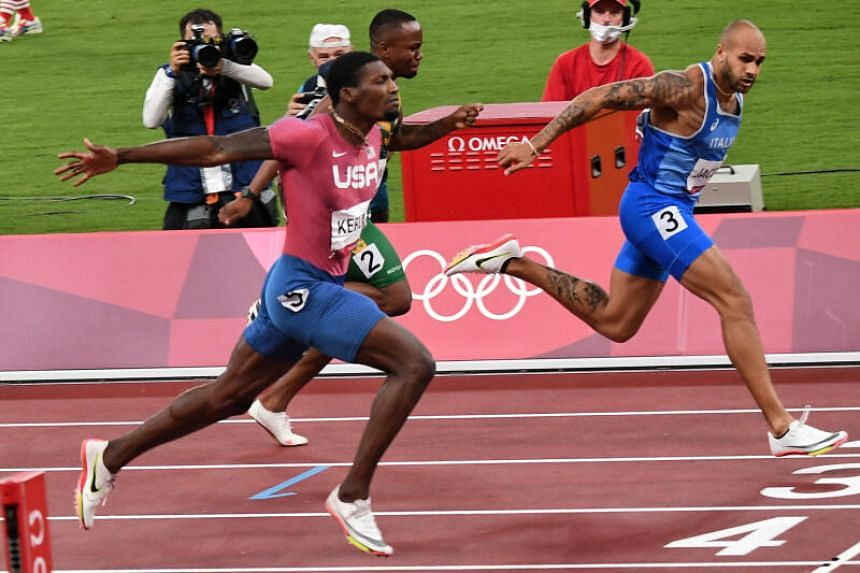 Lamont Marcell Jacobs became a worldwide sensation in 9.80 seconds after he blazed across the finish line at the Tokyo Olympic Stadium.