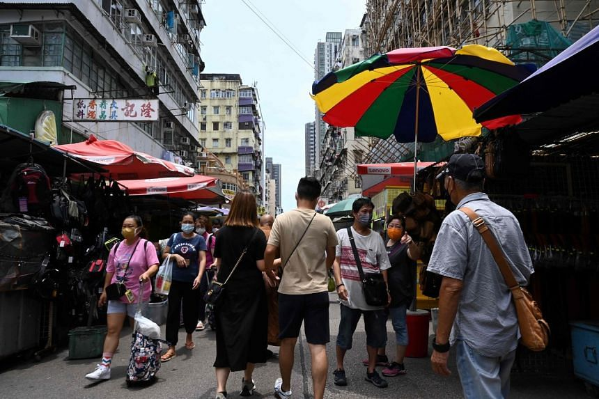 The Hong Kong government's key strategy is to prevent imported cases.