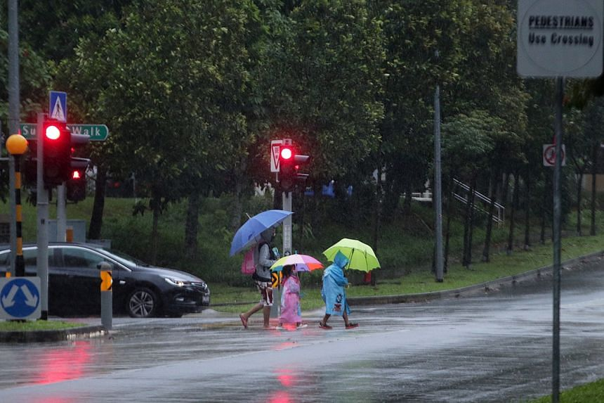 More thundery showers can be expected in the first half of August.