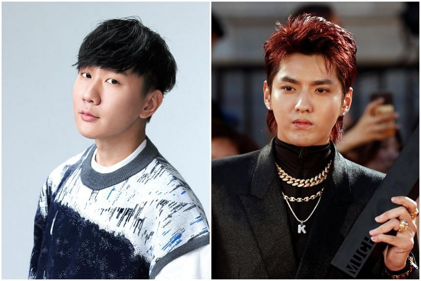 Singapore singer JJ Lin (left) has issued a swift rebuttal to nasty talk about him in the wake of the scandal over Chinese-Canadian singer Kris Wu.