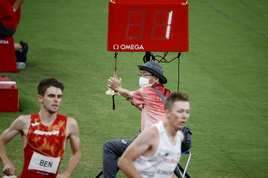 Of the 71,000 volunteers at the Olympics and Paralympics, nearly 15,000 are aged 60 or over, according to organisers.