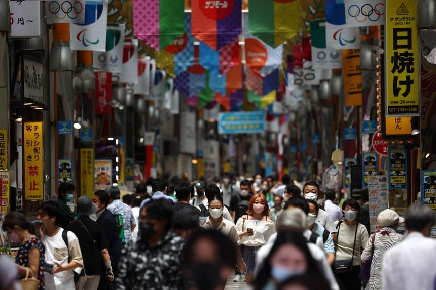 Prices in Japan's capital, excluding those for fresh food, ticked up by 0.1 per cent in July compared with a year earlier.