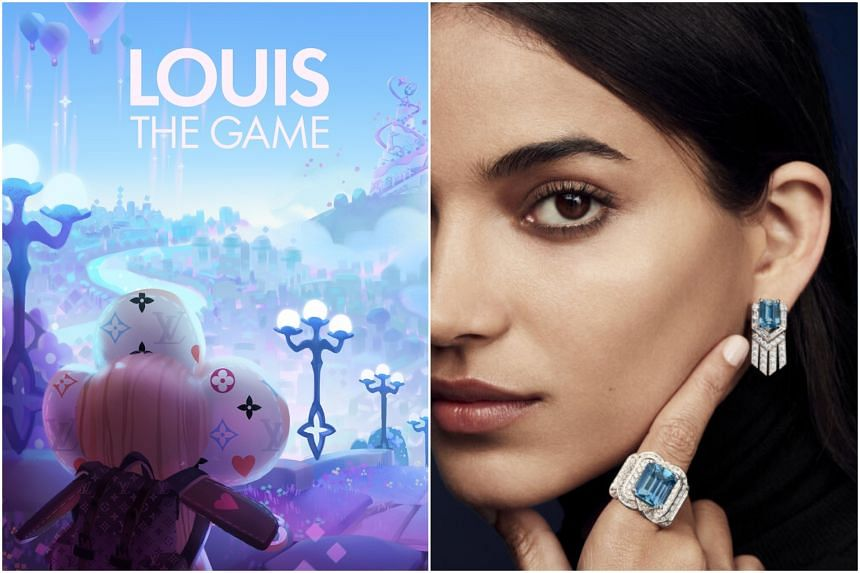Louis Vuitton's bicentennial birthday on Aug 4 will be marked with a series of initiatives such as a mobile game (left) and a high jewellery collection.