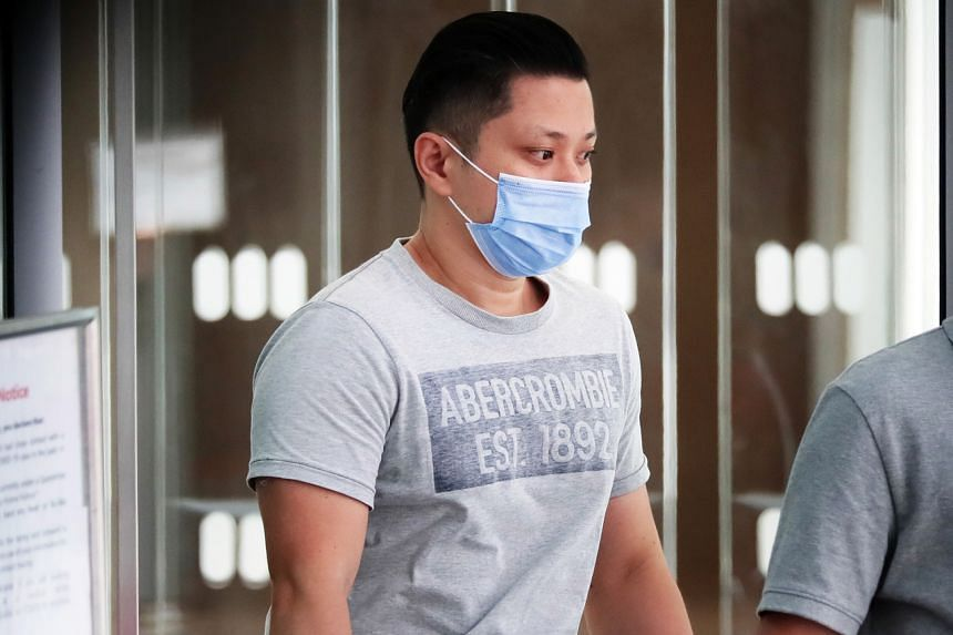 Sim Meng Keat was working for United Engineering as a purchasing executive when he committed the offences.