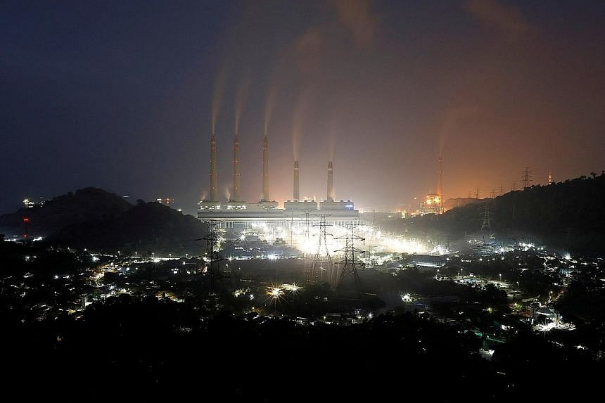 A coal-fired power plant in Suralaya in Indonesia's Banten province. The novel plan to speed up closure of such plants - driven by the Asian Development Bank and involving firms including Prudential, Citi and HSBC - offers a potentially workable mode