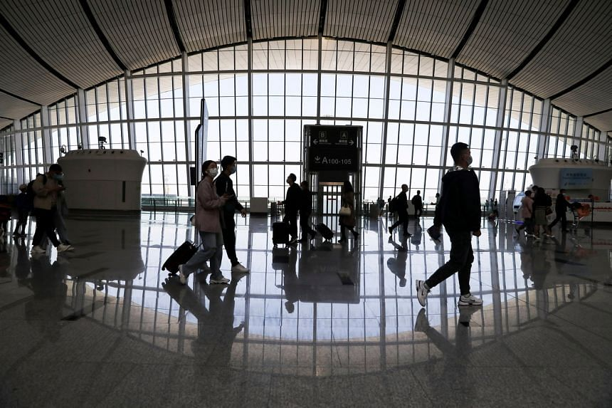 Airlines scheduled 9.8 per cent less seat capacity in China this week than last week.