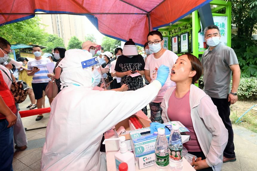 Wuhan, where the virus first emerged in 2019, reported its first local infections in over a year this week.