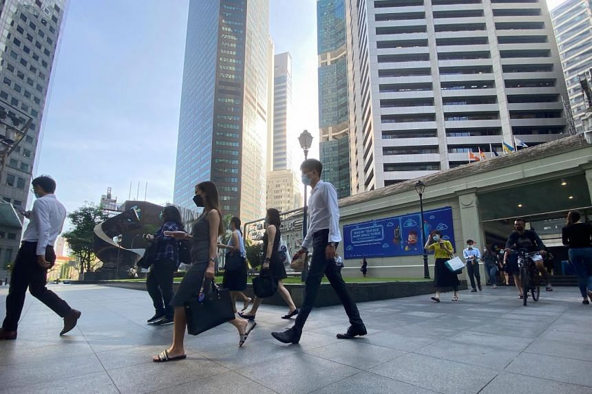 The Singapore Corporate and Transparency Index was higher this year compared with in 2020.