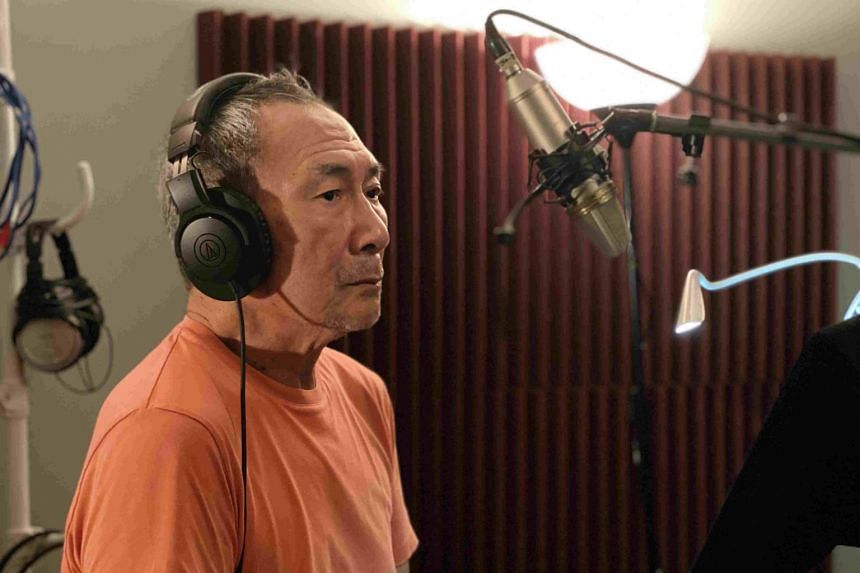 Local actor Lim Kay Tong taking part in the making of Fey Hollow: The Fairy Tale Murders.