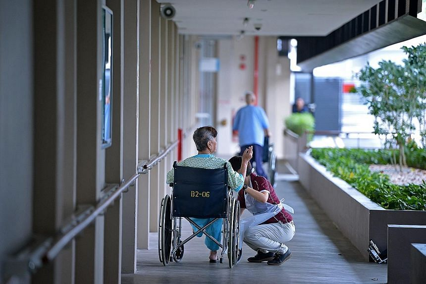 Senior Minister of State for Health Koh Poh Koon said the number of nursing home beds rose from 13,000 to 16,300 between 2016 and last year. He also stressed the importance of caring for seniors in the community as far as possible, saying this includ