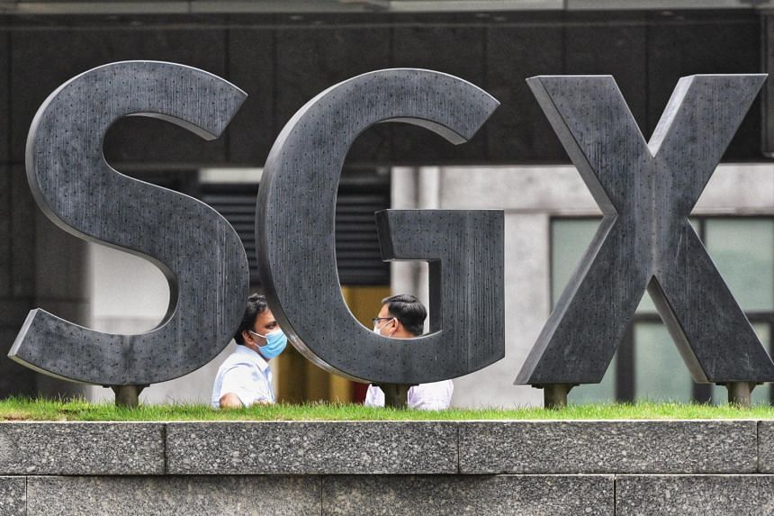 The Singapore Exchange's net profit for the six months ended June 30 came in at $205.6 million.