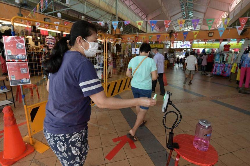 Chong Pang Market reopened on Aug 5, 2021.
