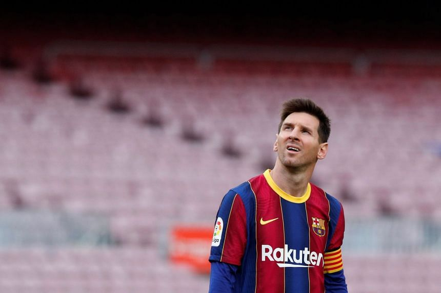 Messi (above) will end his 20-year career with Barcelona after failing to reach agreement on a new deal with the club.