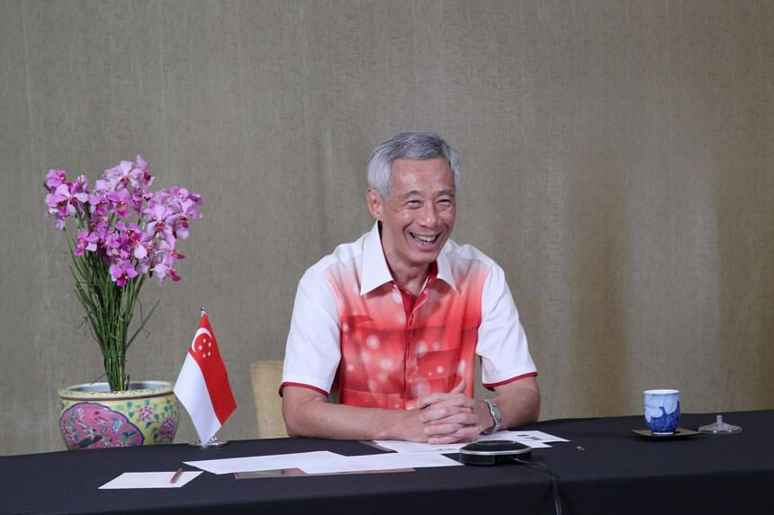 PM Lee has encouraged the contingent to learn from the experience and strive to improve.