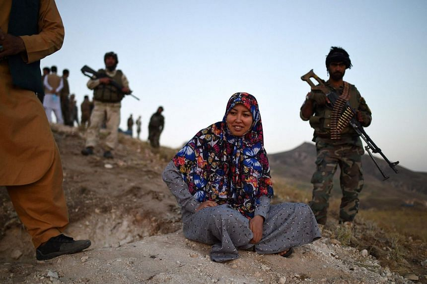 Ms Salima Mazari, a female district governor in male-dominated Afghanistan, is on a mission - recruiting men to fight the Taleban.