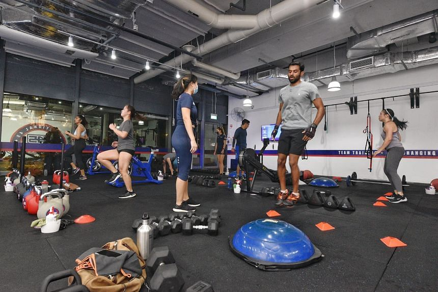 """Gyms and fitness studios will also have to adhere to the """"vaccinate or regular test"""" regime, which will take effect from Oct 1."""
