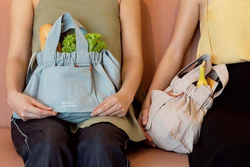 The Dumpling Bag embodies the ultimate pandemic bag, capturing carry-all practicality with a touch of wannabe flair.