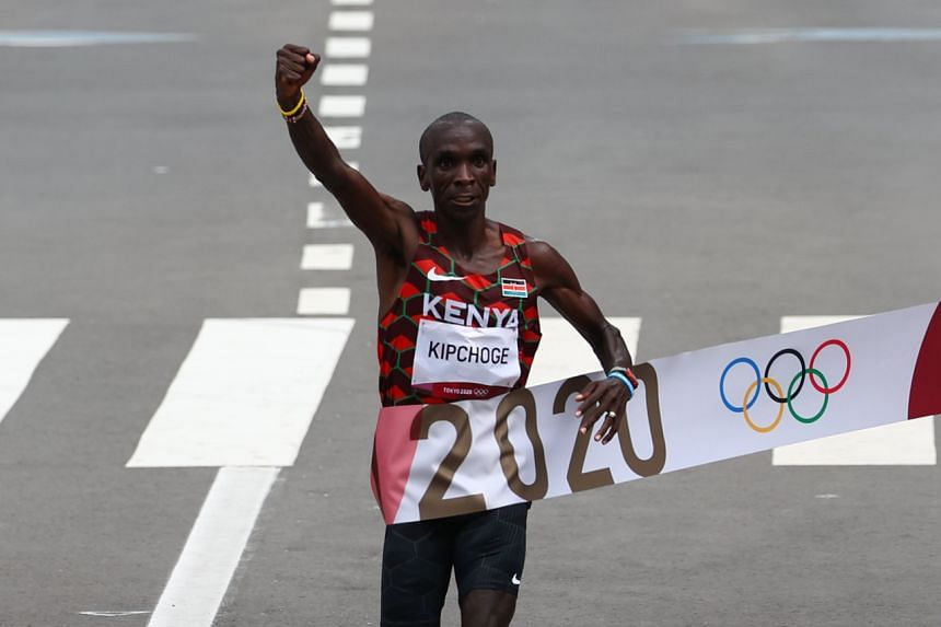 Eliud Kipchoge had been aiming for the gold to shore up his status as the greatest marathon runner of all time.