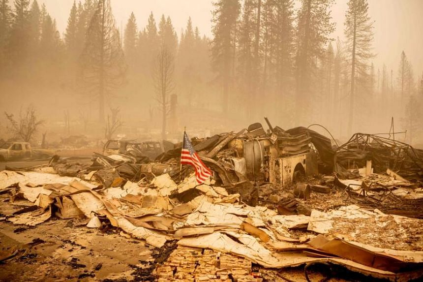 The Dixie blaze is the largest active wildfire in the United States, but one of only 11 major wildfires in California.