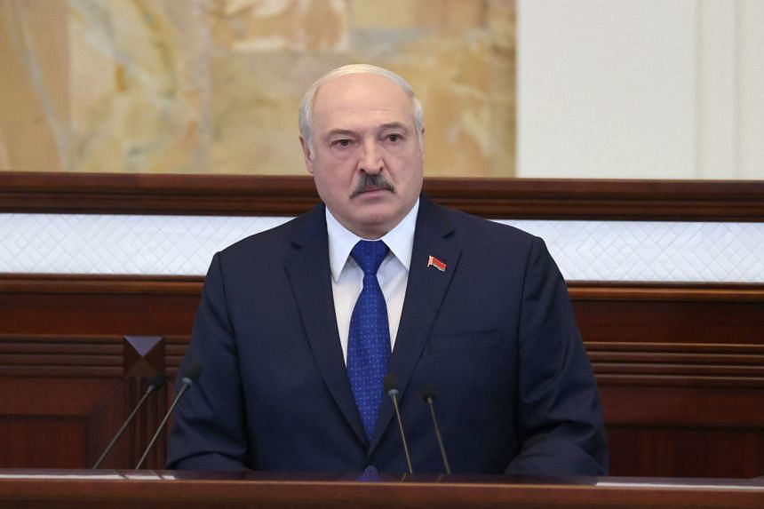 Belarusian President Alexander Lukashenko has been cracking down on opponents since unprecedented protests erupted after last year's elections.
