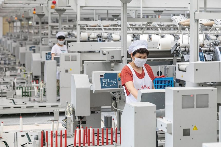 Businesses in China face intensifying strains from higher commodity prices and global supply chain bottlenecks.