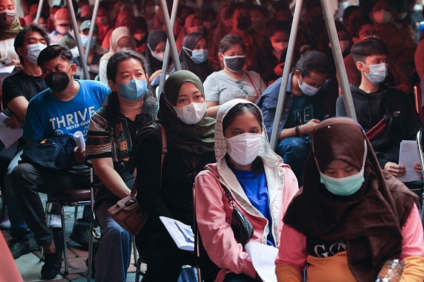 About 42 per cent of Jakartans have been fully vaccinated.