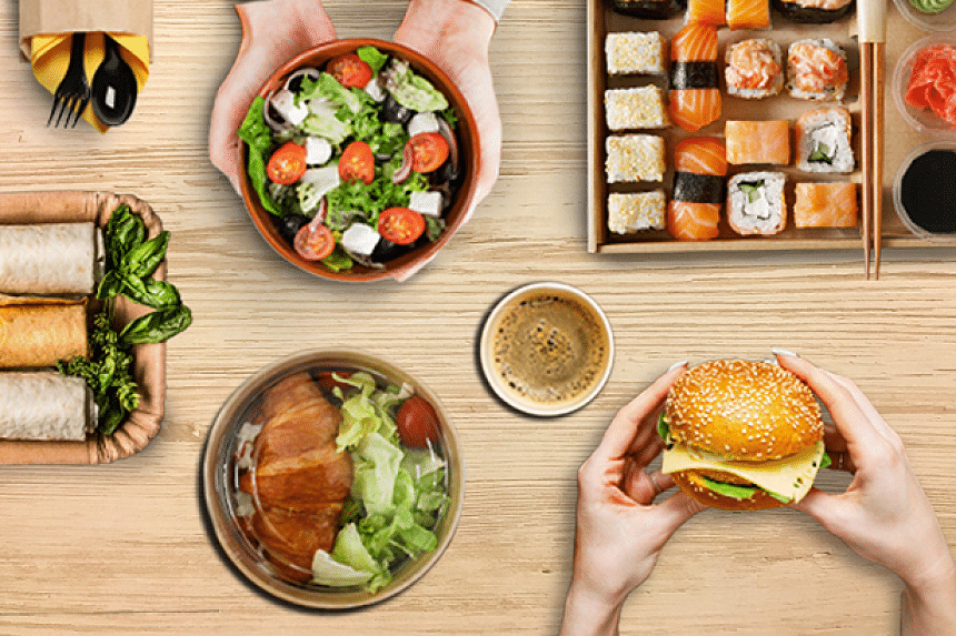 According to a recent consumer survey by GrabFood for Business, 76 per cent of employees voted food allowance as the most preferred workplace benefit. PHOTO: GRABFOOD FOR BUSINESS