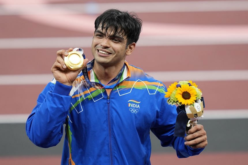 """The Athletics Federation of India said Aug 7 - the date of Neeraj Chopra's triumph - would be dubbed """"Javelin Throw Day""""."""