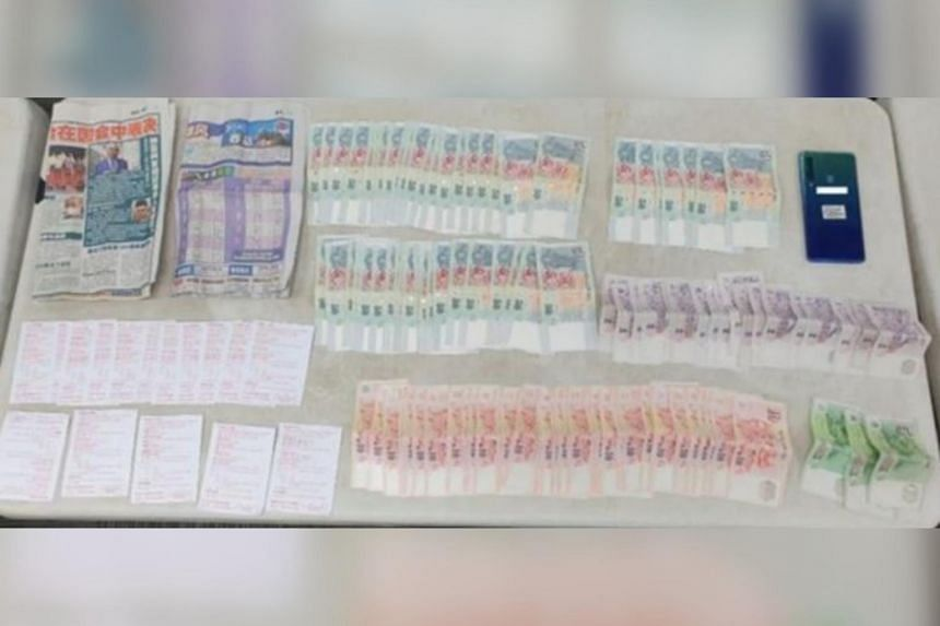 Cash amounting to more than $18,200, five mobile phones and betting paraphernalia were seized during the operations.