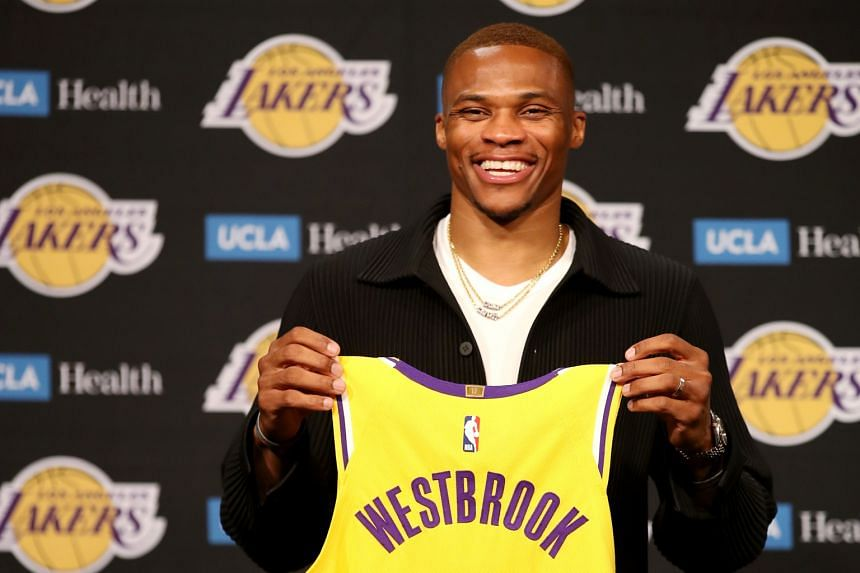 """Russell Westbrook said it was a """"blessing"""" to land in Los Angeles."""
