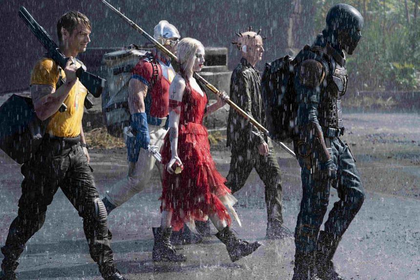 The Suicide Squad stars Joel Kinnaman, Margot Robbie, Idris Elba, John Cena, Daniela Melchior, David Dastmalchian and Peter Capaldi.