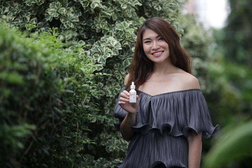 Bskin founder Chia Su-Mae.