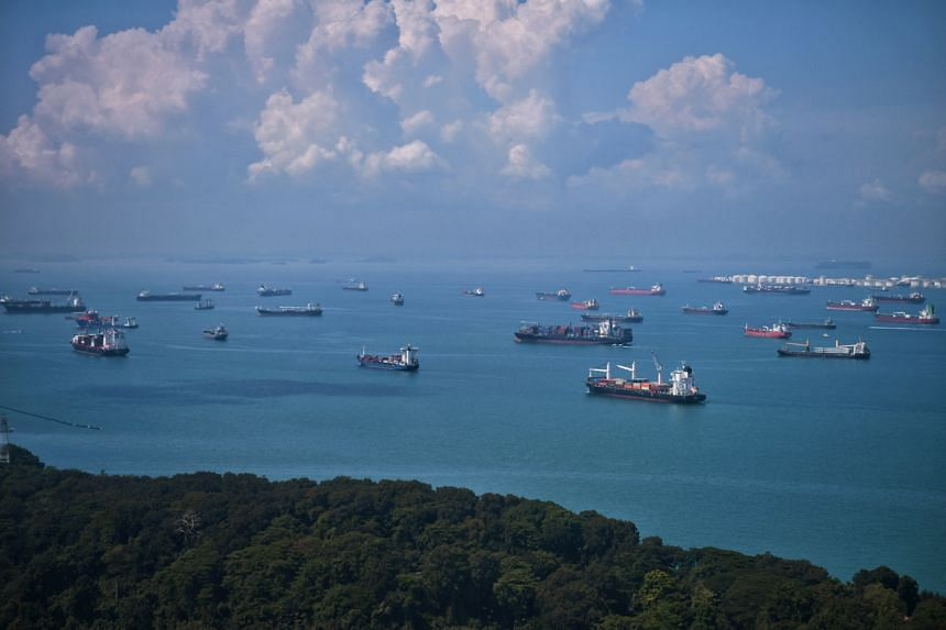 Twenty-two incidents of armed robbery were reported in the Singapore Strait between January and July this year.