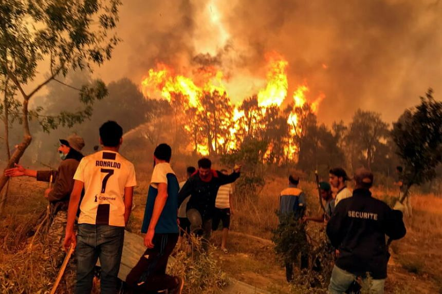 Soldiers and civilian volunteers have joined firefighters on multiple fronts in the effort to extinguish the blazes.